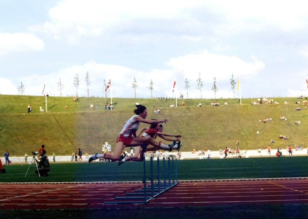 100 m Hürdenlauf der Männer
