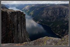1000m über dem Lysefjord