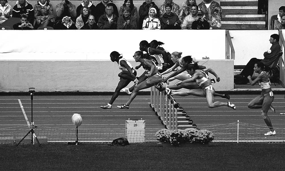 100m Hürden