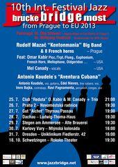 "10th Int. Festival ""Jazz Bridge"""