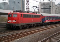 110 244 mit dem Bahn Touristik Express in Richtung Dortmund