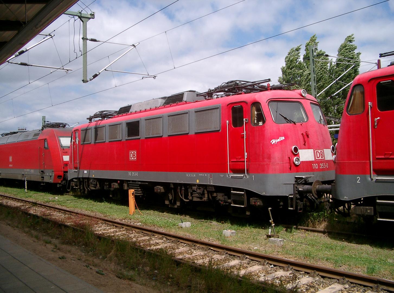 110 353-0 Rostock Hbf