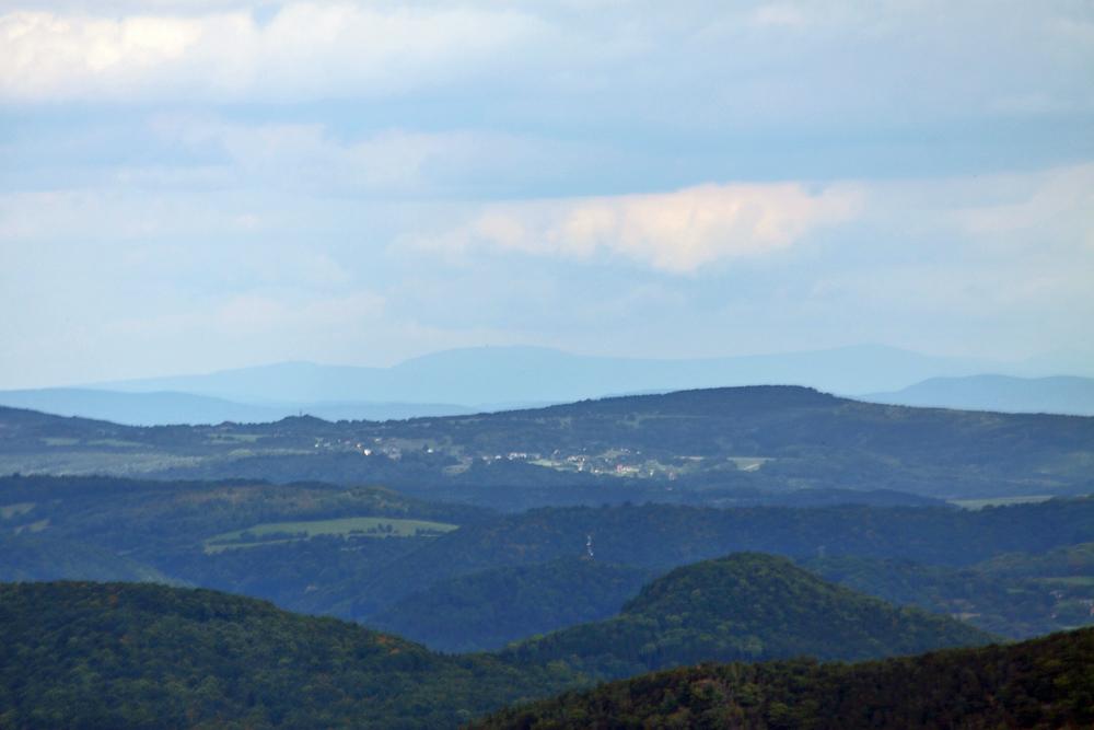 110 km Sicht im Sommer von der Nollendorfhöhe am 26.08. 12, die ich so noch nie hatte