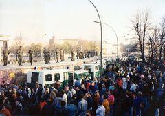 11.11.1989 am Brandenburger Tor