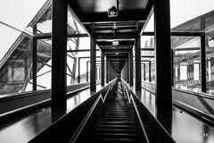 (12) Rolltreppe sw
