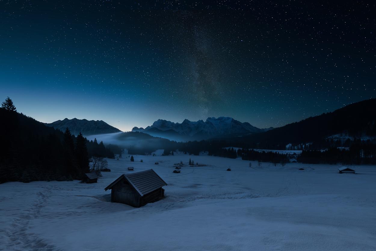 [ 12 Stunden am Geroldsee ] - nachts