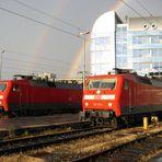 120 123 und 120 133 in München Hbf