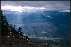1200 m überm Etschtal
