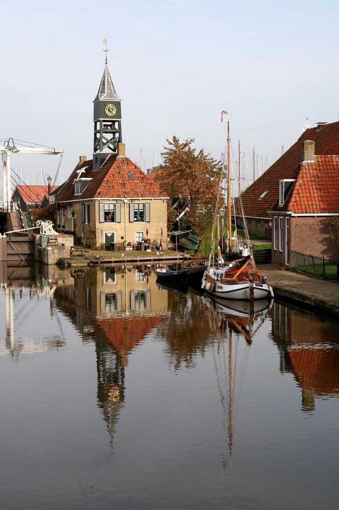 12.21 Uhr in Holland