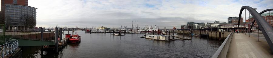 13 März 10 Uhr im Hafen