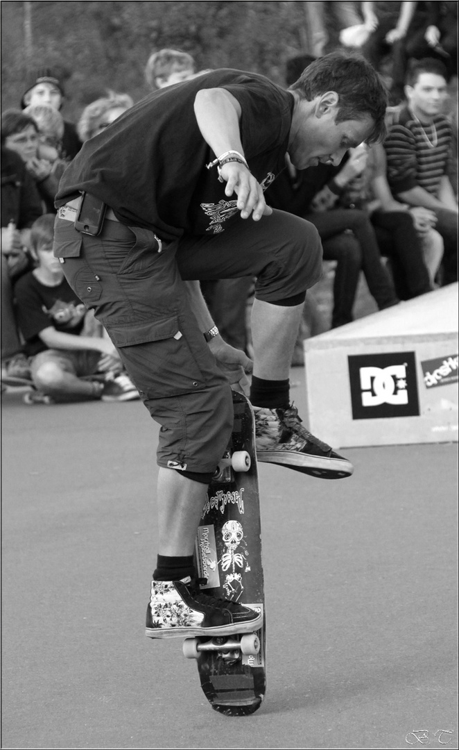 13. Paderborner BBQ Skateboardingcontest -3-