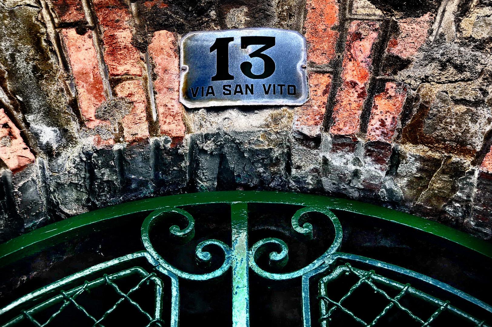 13 Via San Vito
