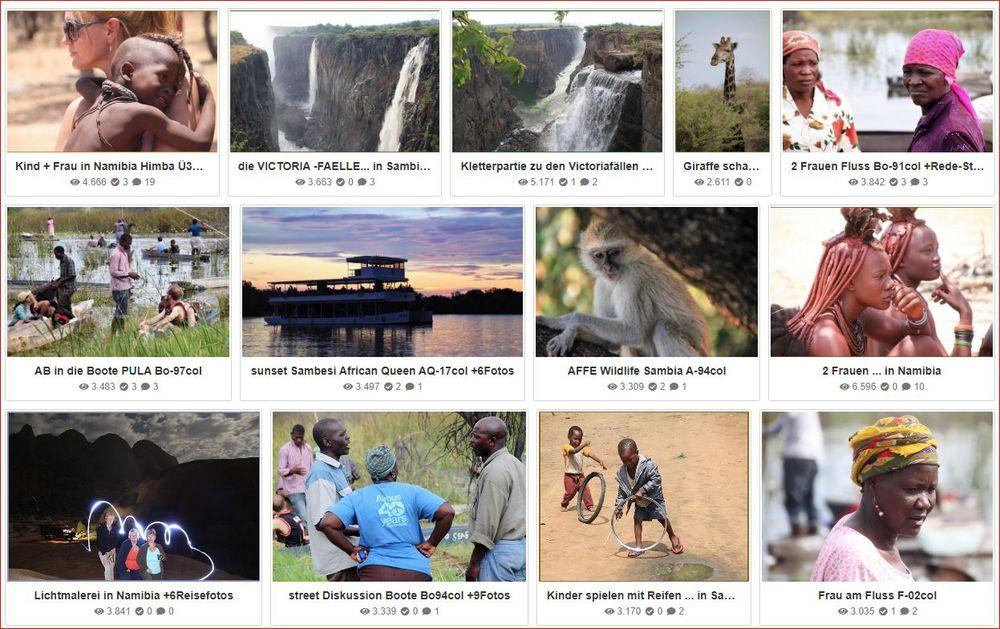 13mal Nambia Sambia Himba  +8Fotos