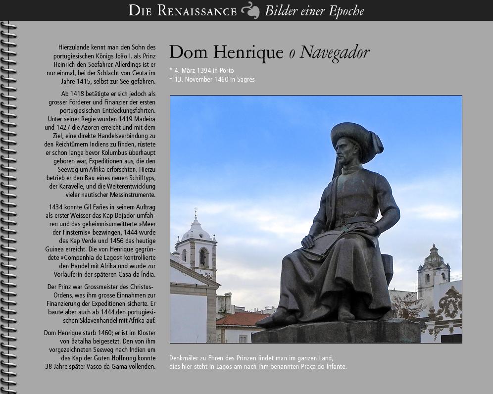 1418 • Dom Henrique o Navegador