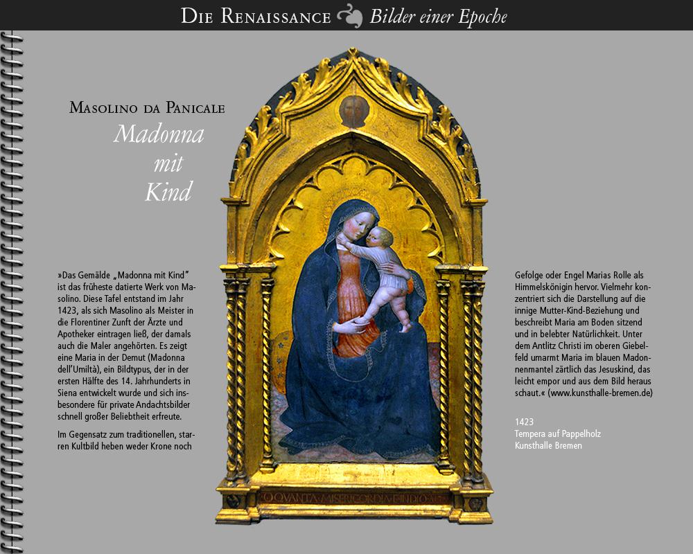 1423 • Masolino da Panicale | Madonna mit Kind