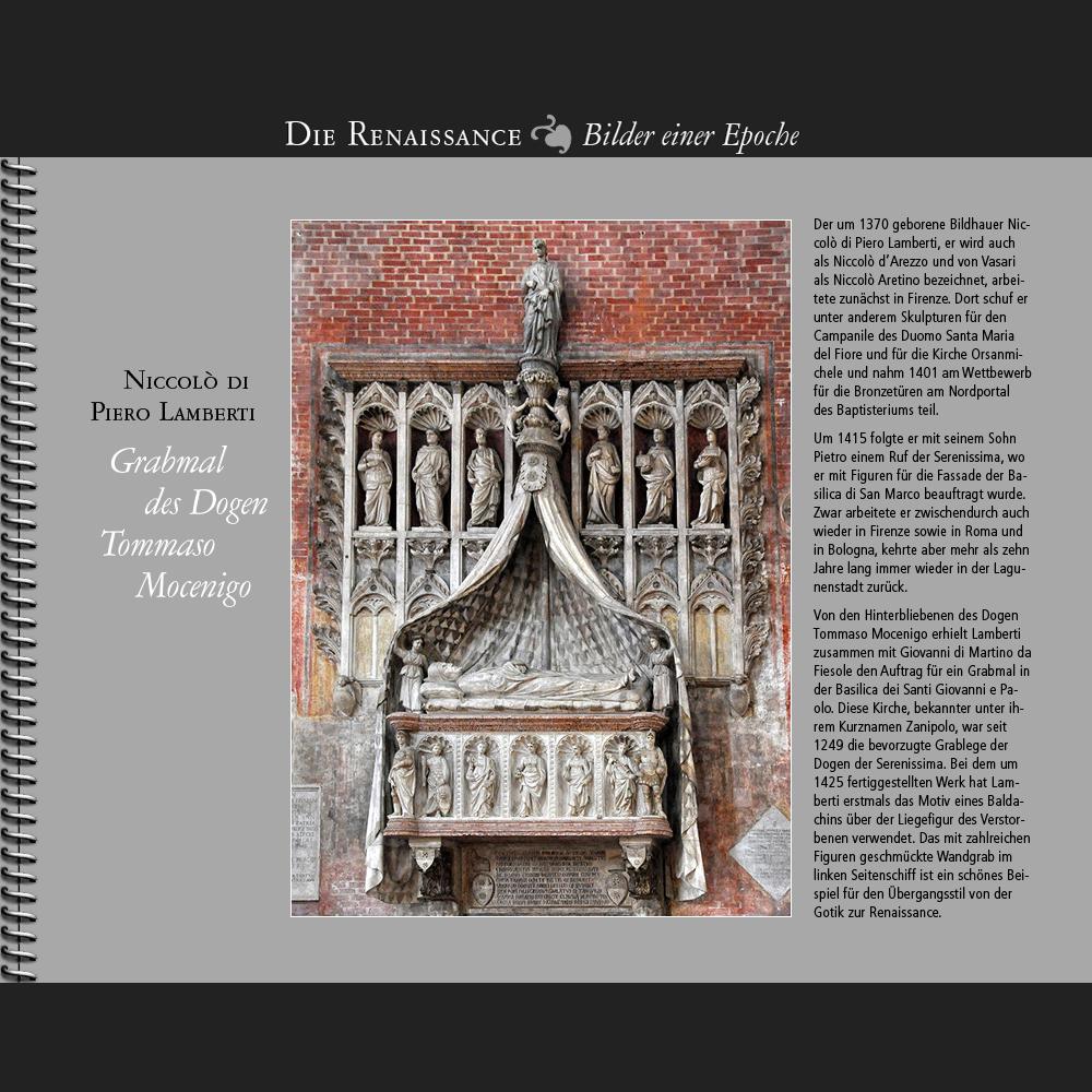 1425 • Niccolò di Piero Lamberti | Grabmal des Dogen Tommaso Mocenigo
