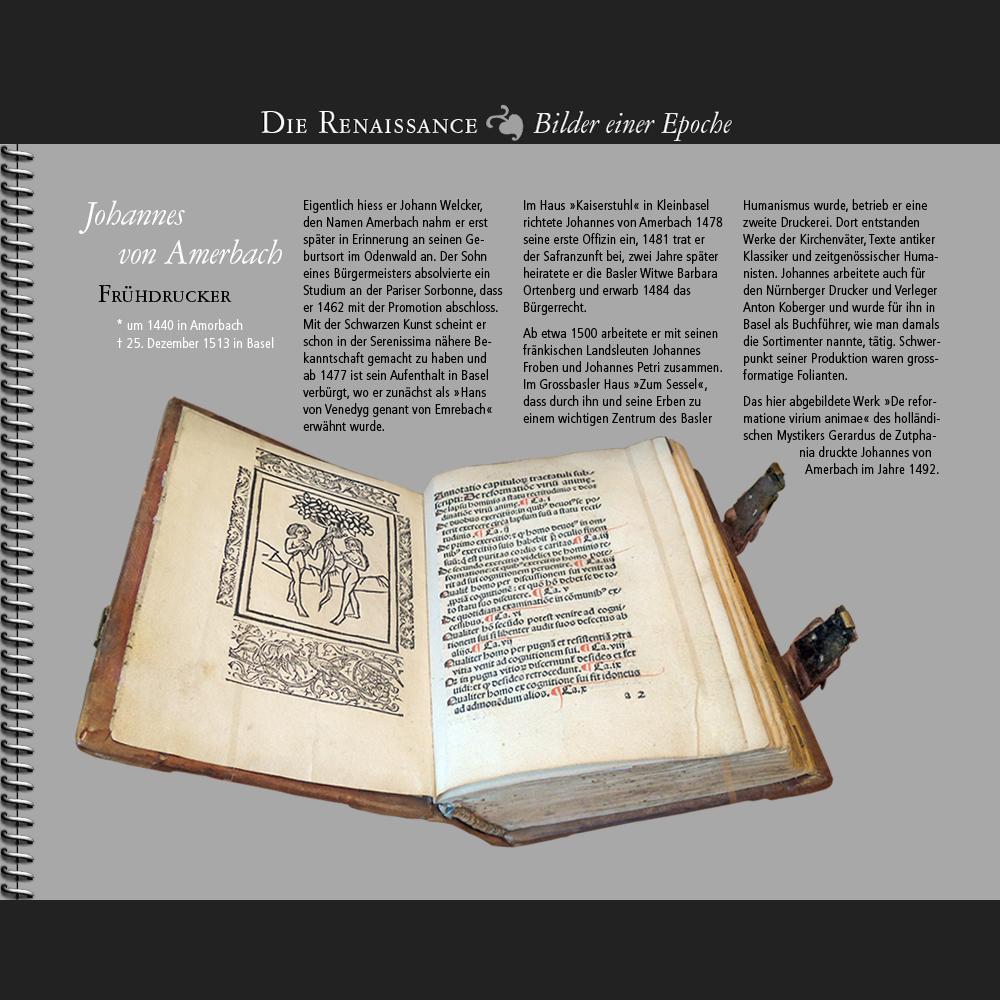 1440 • Johannes von Amerbach, Frühdrucker