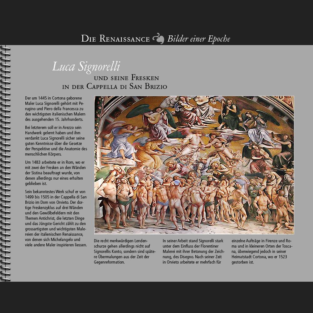 1445 • Luca Signorelli | Cappella di San Brizio