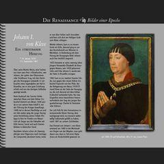 1448 • Johann I., Herzog von Kleve