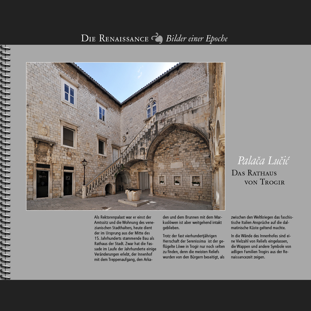 1450 • Trogir | Palaca Lucic