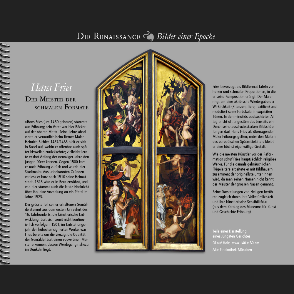 1460 • Hans Fries | Das Jüngste Gericht