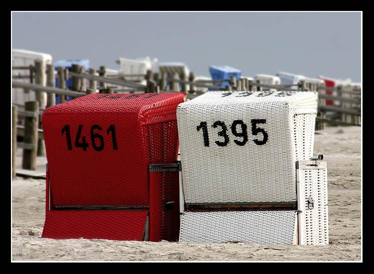1461/ 1395 oder auch rot / weiß