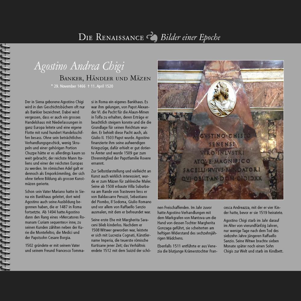 1466 • Agostino Andrea Chigi   Banker, Händler und Mäzen