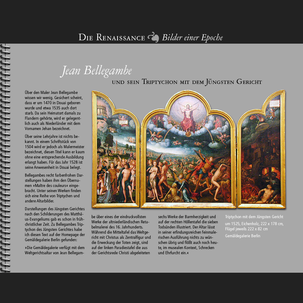 1470 • Jean Bellegambe | Das Jüngste Gericht