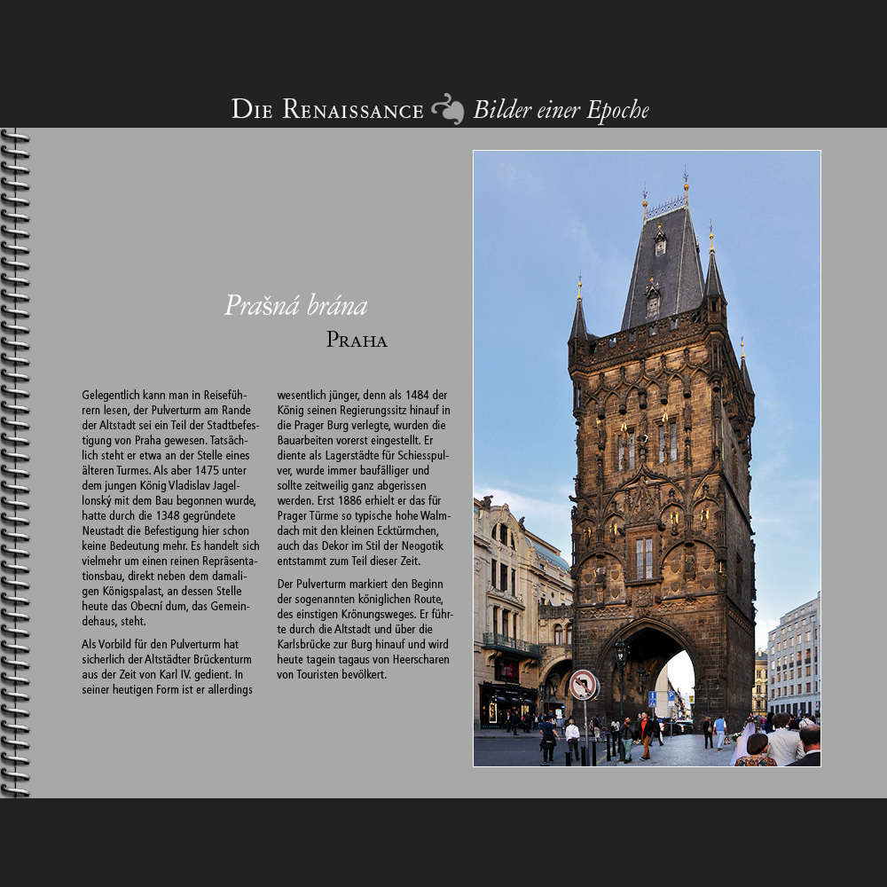 1475 • Praha | Prasná brána