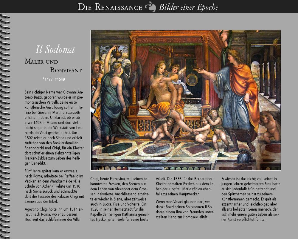 1477 • Il Sodoma | Maler und Bonvivant