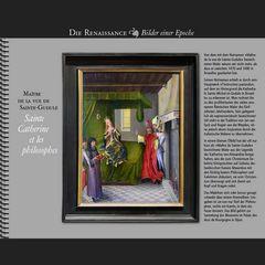 1480 • Maître de Sainte-Gudule | Sainte-Catherine et les philosophes