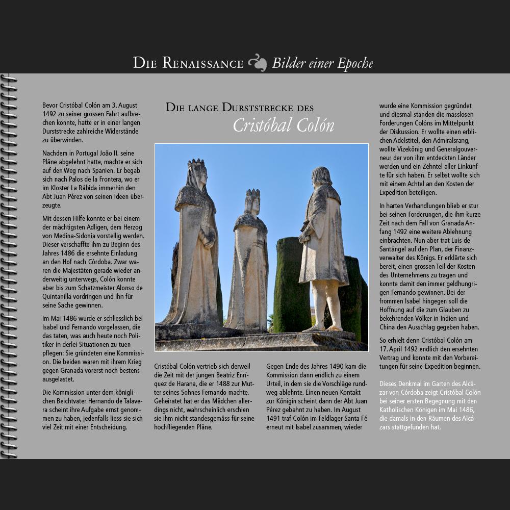 1486 • Die Durststrecke des Cristóbal Colón
