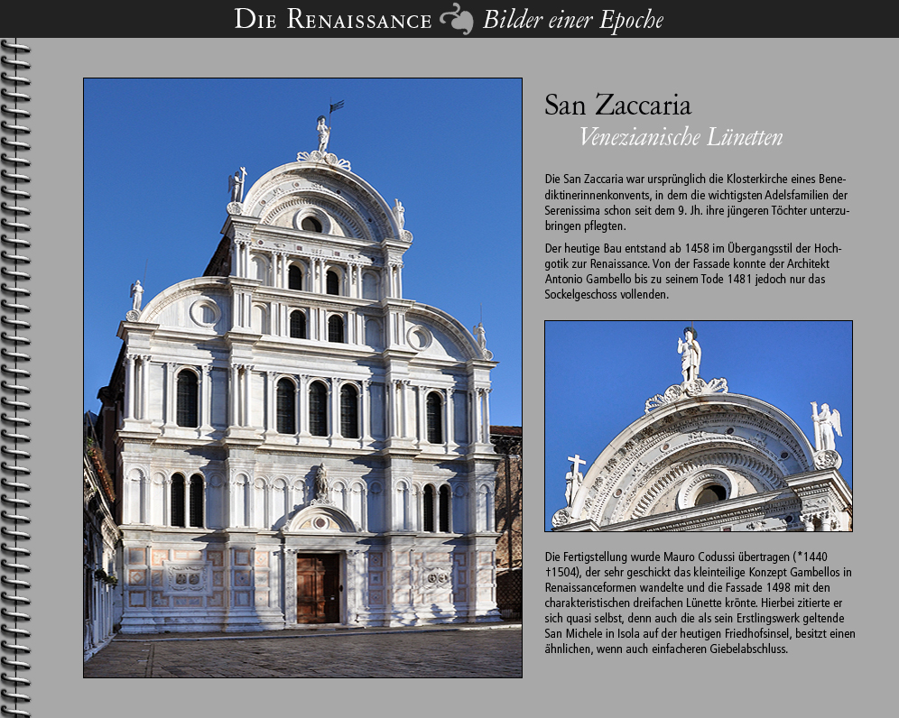 1498 • Venezia | San Zaccaria