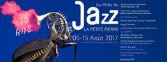 15. AU GRES DU JAZZ  in La Petite Pierre 2017
