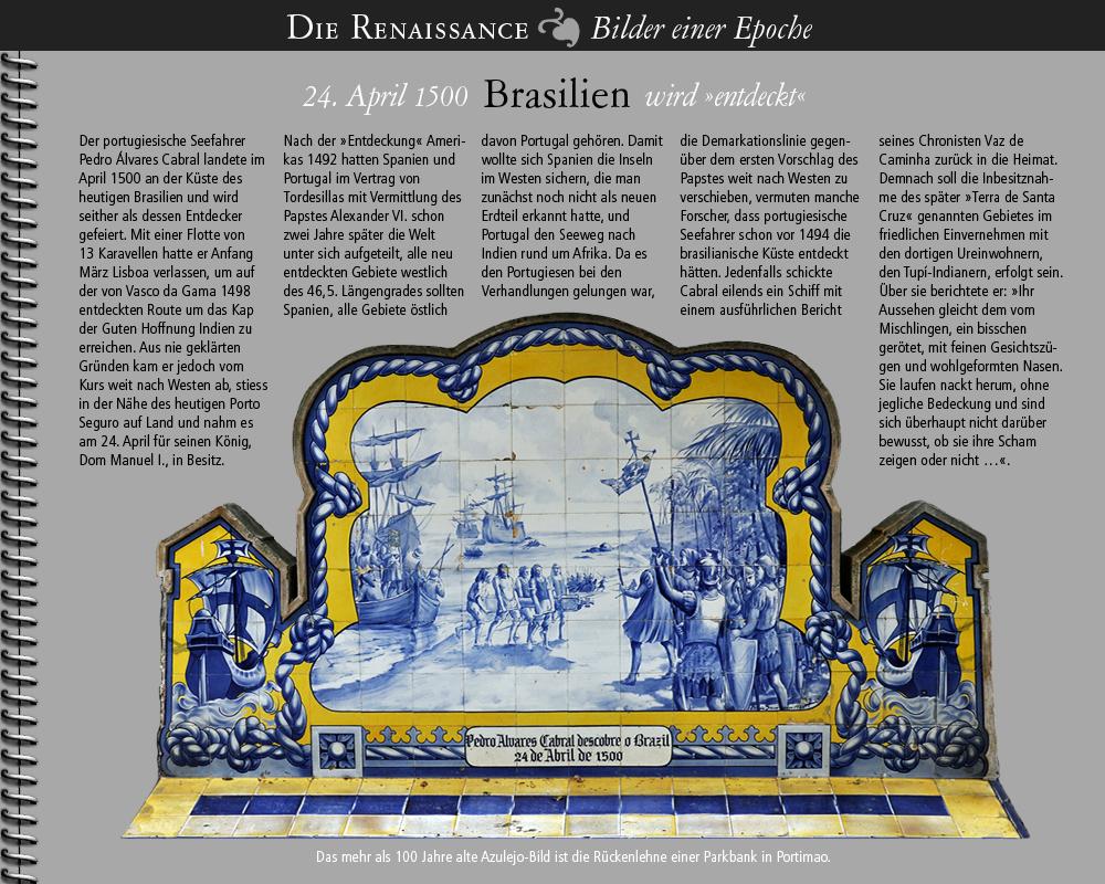 1500 • Besitznahme Brasiliens