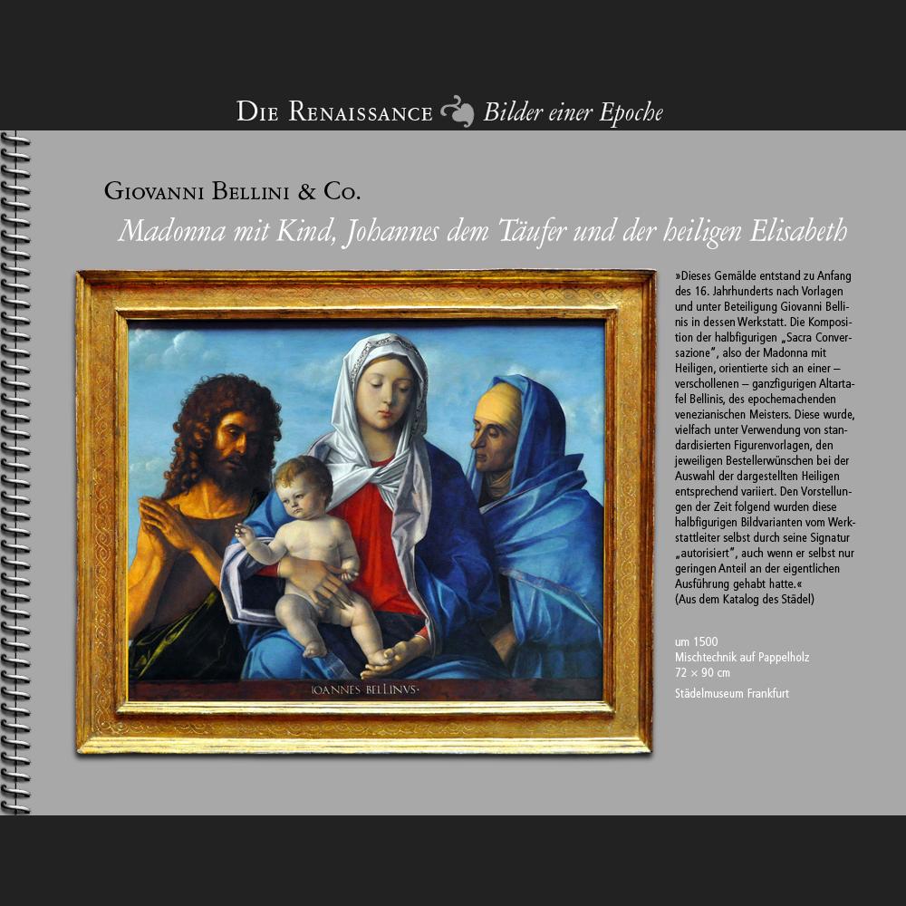 1500 • Giovanni Bellini & Co. | Madonna mit Kind
