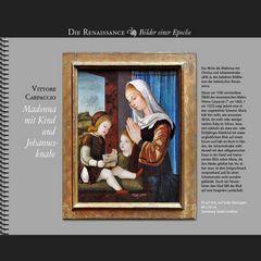 1500 • Vittore Carpaccio | Madonna mit Kind und Johannesknaben