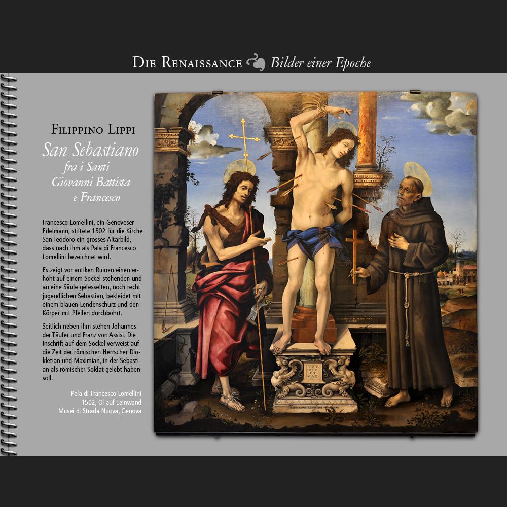 1502 • Filippino Lippi | San Sebastiano