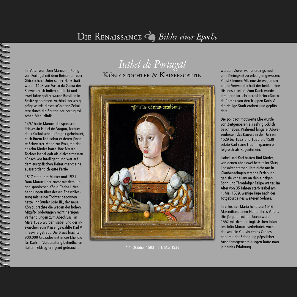 1503 • Isabel de Portugal