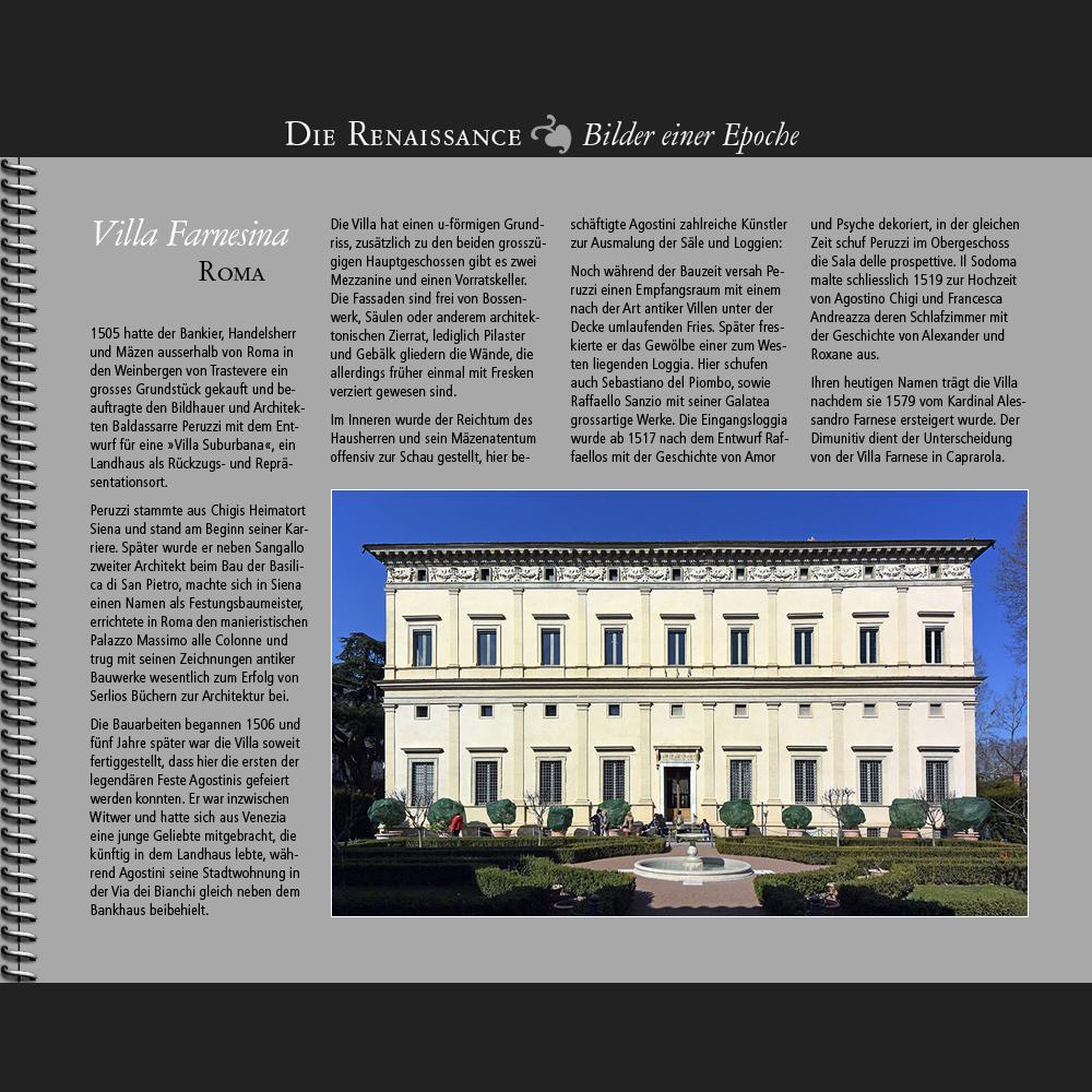 1505 • Roma | Villa Farnesina