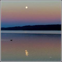 1506 Vollmond - Kurz vor Sonnenaufgang