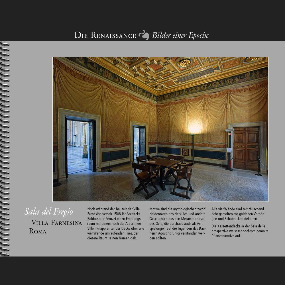 1508 • Roma | Villa Farnesina | Sala del Fregio