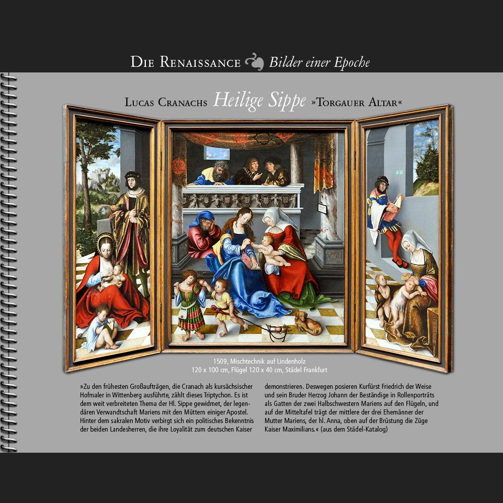 1509 • Lucas Cranach d.Ä.   Heilige Sippe