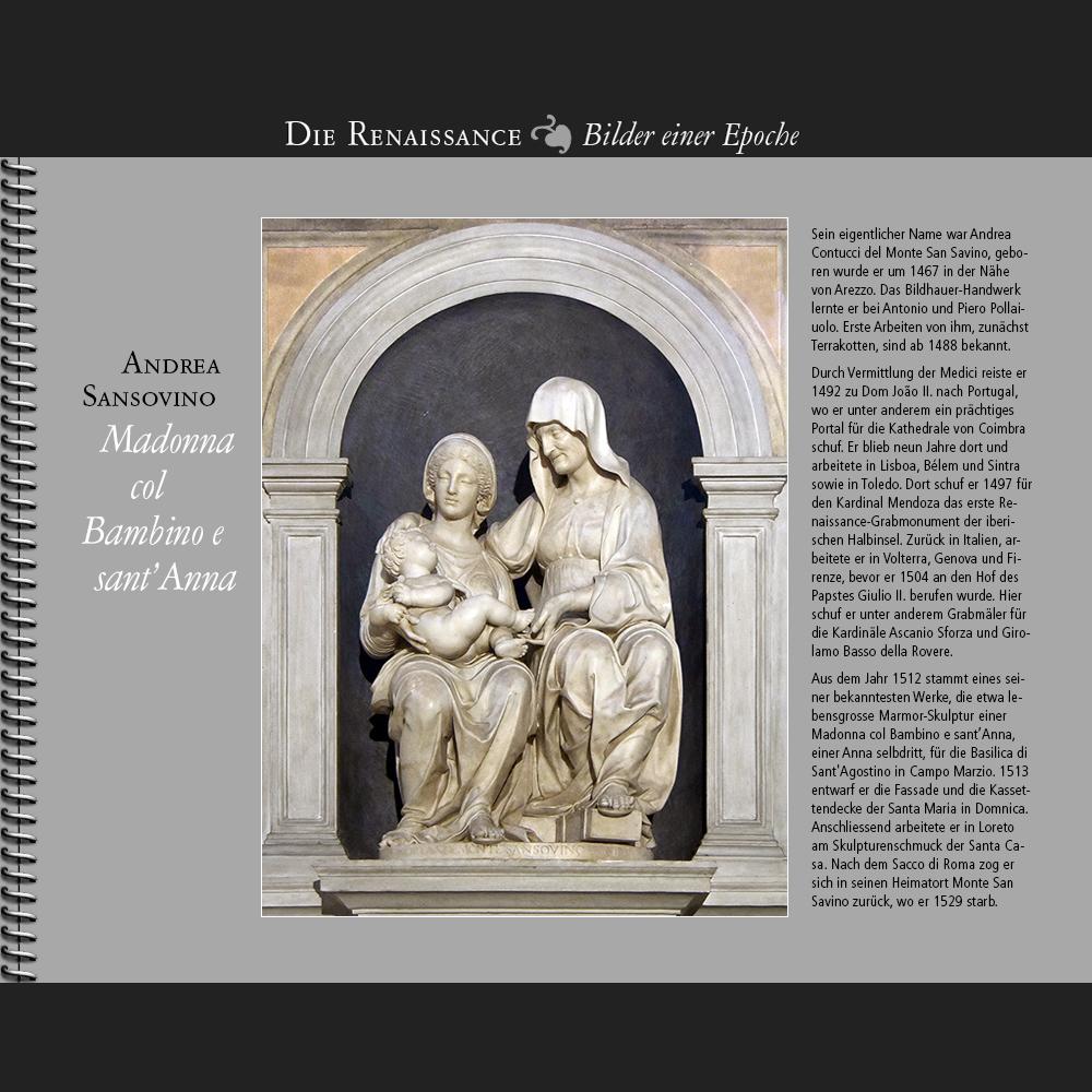 1512 • Andrea Sansovino   Madonna col Bambino e sant'Anna