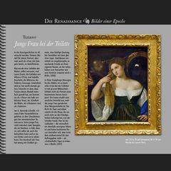 1514 • Tiziano | Junge Frau bei der Toilette