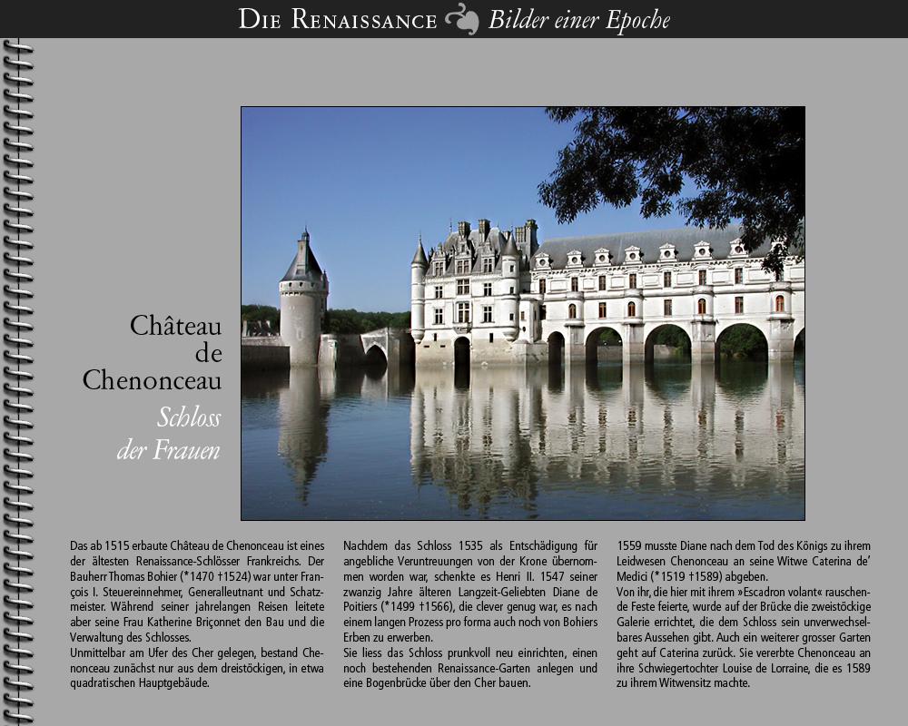 1515 • Château de Chenonceau