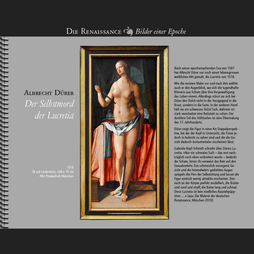 1518 • Dürer | Lucretia