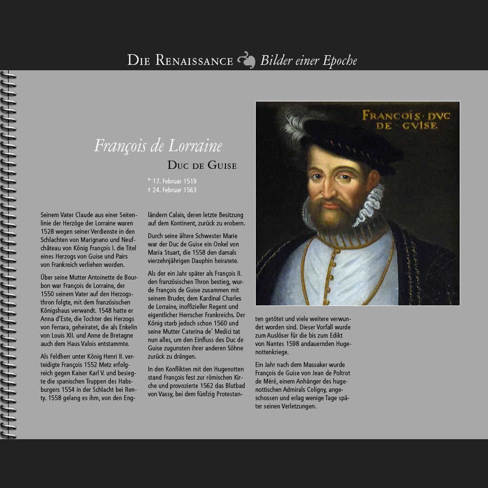 1519 • François de Lorraine | Duc de Guise