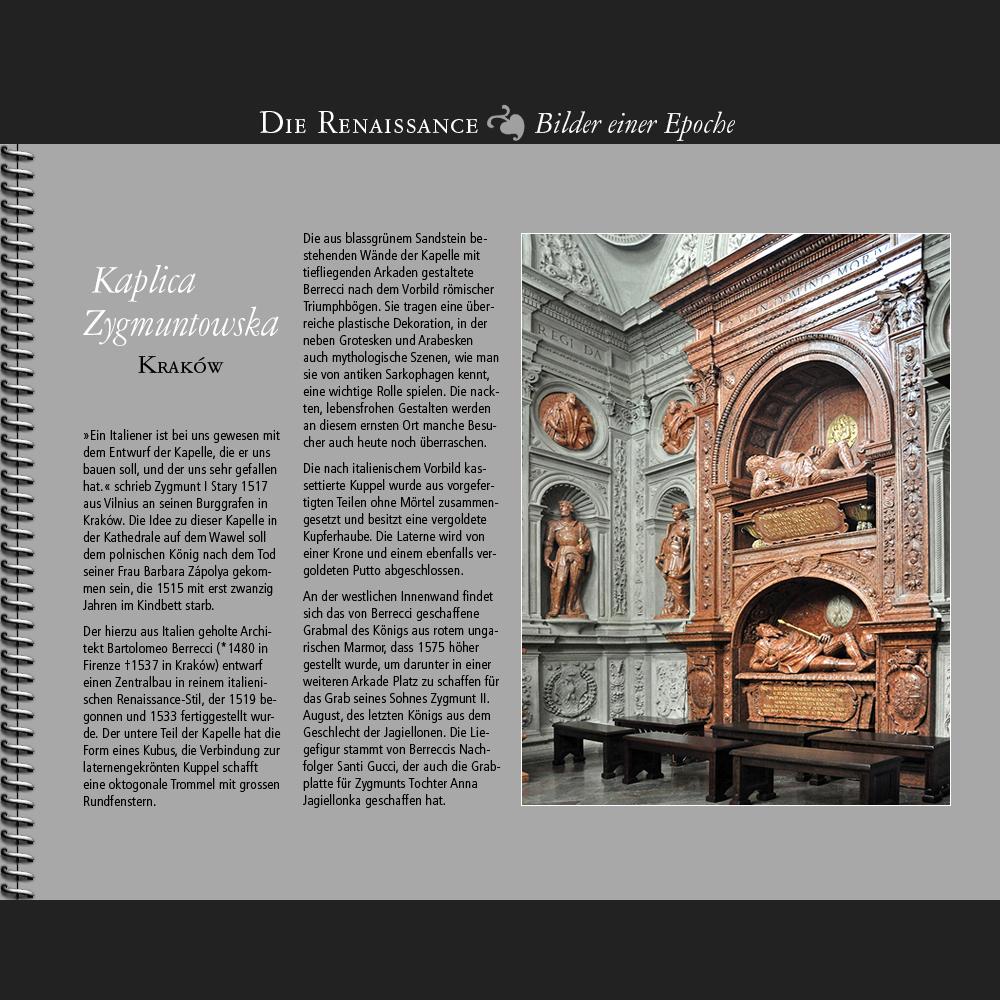 1519 • Kraków | Kaplica Zygmuntowska