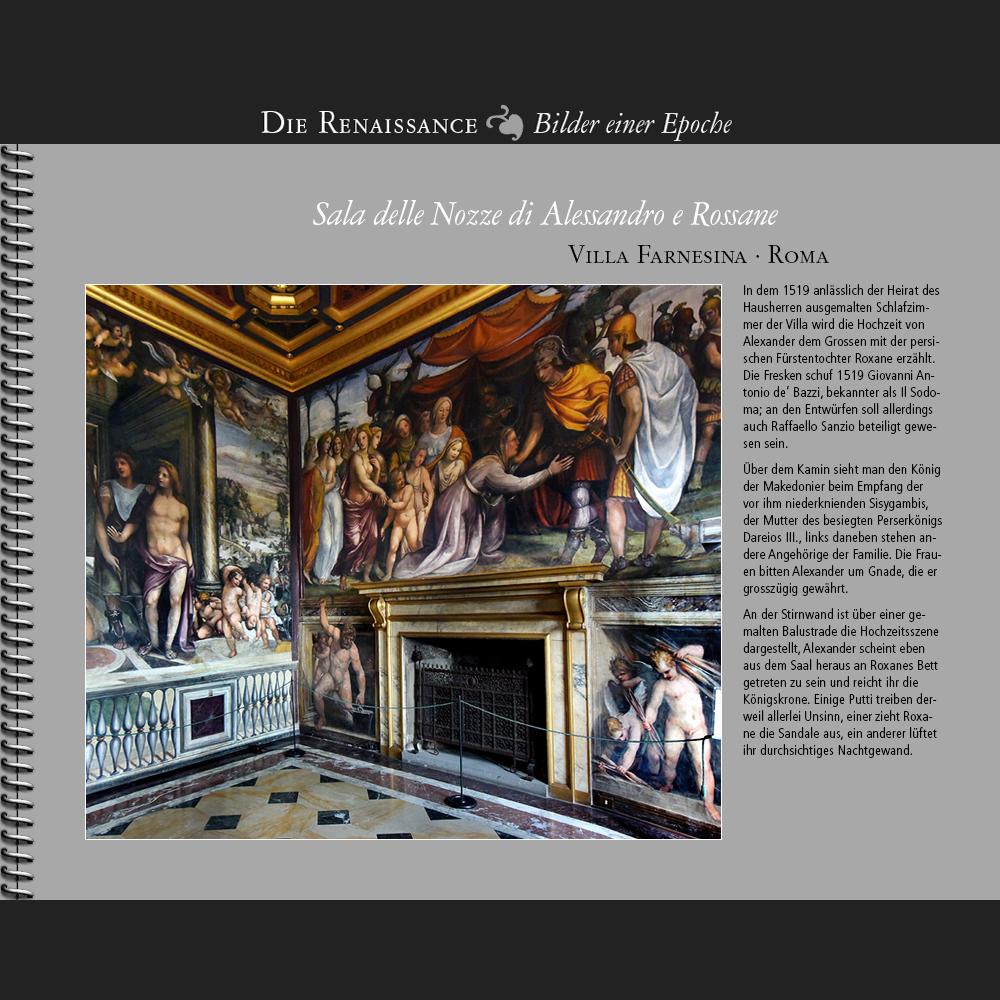 1519 • Roma | Villa Farnesina | Sala delle Nozze di Alessandro e Rossane